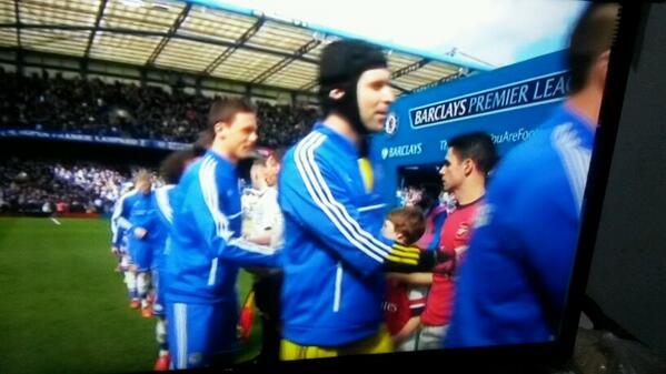 Derby london is began. Let's watching. Chelsea vs…