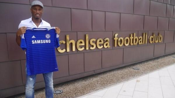 The legend return, Didier Drogba, welcome again!!!…