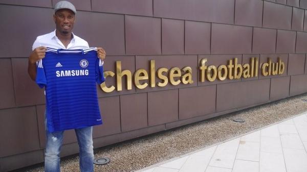 The legend return, Didier Drogba, welcome again!!!…