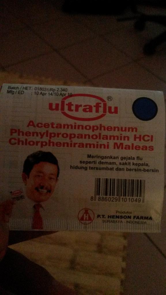 Nitipnya ultramilk, yg datang ultraflu. OMG http:/…
