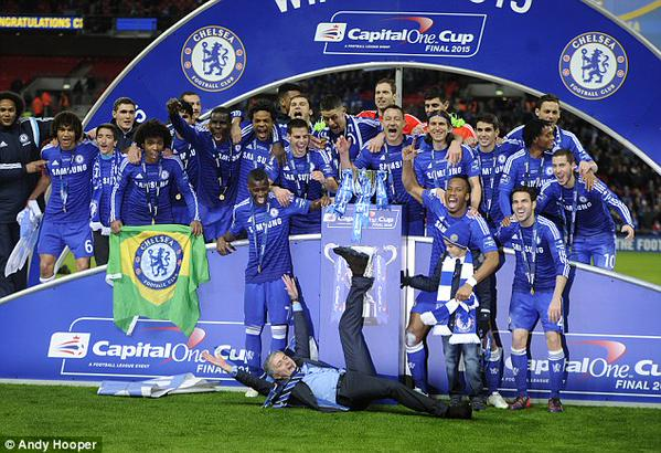 The champion of capital one 2015. Come on chelsea,…