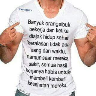Kesehatanlah yg terutama, kunci untuk semuanya. #h…