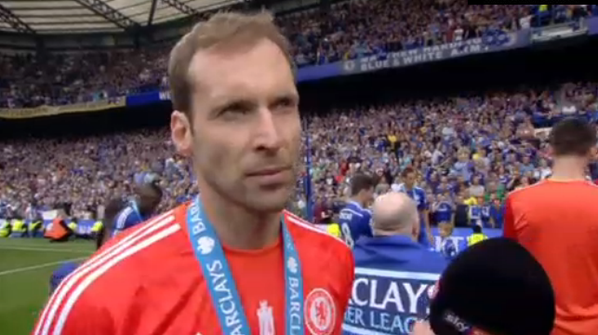 cech the goalkeeper #CFC http://t.co/Nb3N9POZZt