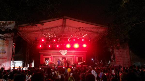 Pesta Rakyat Jakarta 2015, Senayan. #PRJ2015 #rand…