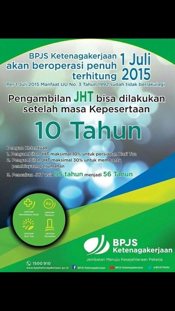 Full Operation per 1 Juli, JKK, JKM, JHT, JP. Jemb…