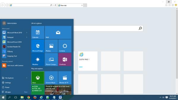 akhirnya pakai windows 2010, gabungan win 7 dan wi…